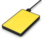 "Orico USB 3.0 2.5"" External Hard Drive Tool Free 2.5 inch Enclosure (2588US3) Yellow"