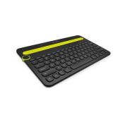 Logitech K480 BLACK BLUETOOTH MULTI-DEVICE KEYBOARD A wireless desk keyboard for your computer,