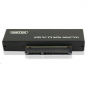 "UNITEK Y-1039  USB 3.0 to SATA 6G Converter Super Speed 5Gbps Supports 2.5/3.5"" HDD,SATA & SSD HDD."