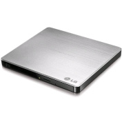 LG GP60NS50 Super-Multi Portable USB power DVD Rewriter With M-Disk Support , Silver Colour , MAC &