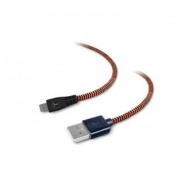 TOUGH TESTED Braided Fabric Lightning Cable, 6FT for Apple ipad, iphone