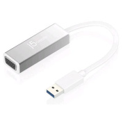 J5create USB 3.0 to VGA Slim Display Adaptor,Resolution up to 2048 x 1152,Easy way to add a extra