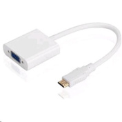 Digitus HDMI Mini (C) to VGA Adapter cable .15m with Audio Support