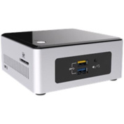 Intel NUC Mini PC Desktop Kit with Braswell Celeron N3050 Dual core up to 2.16Ghz, 2.5inch SATA,