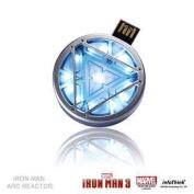 Marvel Officially Licensed Iron Man 3 8GB USB2.0 Flash Drive - Arc Reactor      1 Year warranty