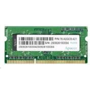 Apacer 4GB Laptop DDR3 1600Mhz 512X8 1.35v Single Sided RAM for Ultrabooks Bulk Pack, for Hp Folio