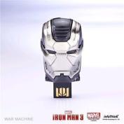 Marvel Officially Licensed Iron Man 3 USB 8GB Flash Drive - War Machine 1 Year warranty