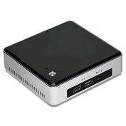 Intel Next Unit of Computing Kits (NUC) 5th Generation i5-5250U up to 2.7Ghz, Support M.2 SSD, Dual