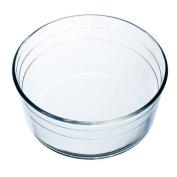Arcuisine Borosilicate Glass Soufflé Dish 22cm