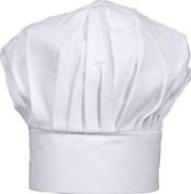 Baby Toddler White Chef Hat Adjustable Fits Babies 12-36 Mos