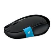 Microsoft Sculpt Comfort Bluetooth Mouse - BlueTrack - Wireless - 6 Button(s) - Black - Bluetooth -