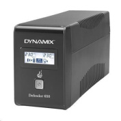 DYNAMIX UPSD650 Defender 650VA (390W) Line Interactive UPS, 936 Joules Surge Protection, 2x NZ Power