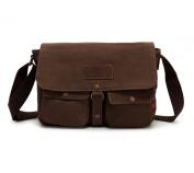 Bronze Times Professional Business Premium Canvas Messenger/Shoulder Bag
