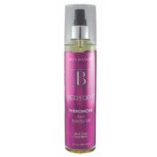 Body Boudoir Body Dew Silky Body Oil with Pheromones Mist Bottle, Slick Chic Pearberry, 240ml
