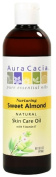 Aura Cacia Nurturing Sweet Almond Natural Skin Care Oil, 470ml Bottle