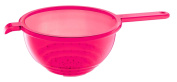 Guzzini Latina 23cm by 38cm by 12cm Colander with Handle, Red
