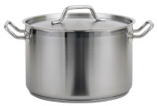 Royal Industries (ROY SS RSPT 8) - 7.6l Induction-Ready Stainless Steel Stock Pot