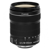 Canon EF-S 18-135mm f/3.5-5.6 IS STM Zoom Lens (White Box) Kit for Canon EOS 7D, 60D, EOS Rebel SL1, T1i, T2i, T3, T3i, T4i, T5i, XS, XSi, XT, XTi Digital SLR Cameras + Lens Cap Keeper & AUD Microfiber Cleaning Cloth
