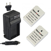 Newmowa® EN-EL24 Battery (2-Pack) and Charger kit for Nikon EN-EL24 and Nikon 1 J5