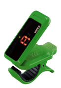 Korg PC1 Pitchclip Clip-On Chromatic Tuner - Green