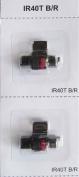 (3 pack) Sharp EL-1750V Sharp EL-1801V Calculator Ink Roller, Black and Red, Compatible, IR-40T