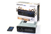 GRAVITY AGR-S205BT Car Entertainment System CD-Receiver Built-in Bluetooth/SD/USB/Front Aux Mp3 Disc Playable