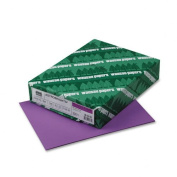 Wausau Paper Products - Wausau Paper - Astrobrights Coloured Paper, 11kg, 8-1/2 x 11, Planetary Purple, 500 Sheets/Ream - Sold As 1 Ream - The brightest and the best! - Attention-getting notices, flyers, announcements and bulletins. - Guaranteed perfor ..