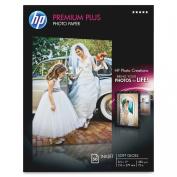 HP Premium Plus Photo Paper, Soft Gloss, A, 50 Sheets