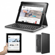 Anker® Bluetooth Folio Keyboard Case for iPad 4 / 3 / 2 with 6-Month Battery Life Between Charges and Comfortable Low-Profile Keys
