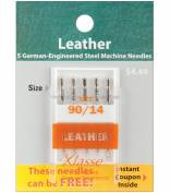 Tacony Corporation Klasse Leather Machine Needles -90/14 5/Pkg