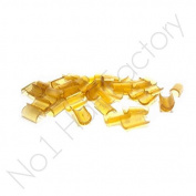 50 x Professional Keratin Glue Fusion Bonds -Amber