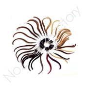 100% Remy Hair Extension Colour Ring With 36 Colours
