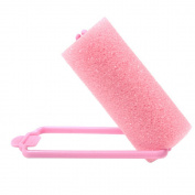 Sanwood 6Pcs Magic Sponge Foam Hair Curlers Curling Styling Rollers Twist Tool