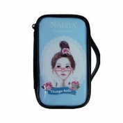 Fashion Waterproof Travel Makeup Case Cosmetic Bag Sundry/Toiletry, Blue Girl