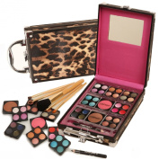 Ivation Makeup Kit - 36 Pc Set Including Eyeshadow, Blusher, Lip Gloss and Brush Set