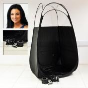 Black Spray Tan Machine Tanning Airbrush Kit With Pop Up Tent