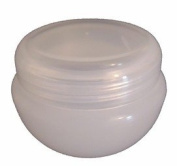 Natural 30ml Cosmetic Jars with Shive & Lid - 100