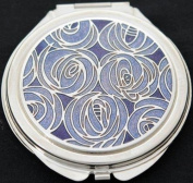 Compact Mirror in a Mackintosh Roses Design.
