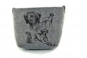 Rhodesian Ridgeback , grey bag, Shoulder bag with dog, Handbag, Pouch, High quality, Pet Lover, Purse, For Ladies, Women, Tote bag