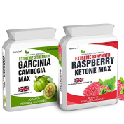 Body Smart Herbals - 30 Raspberry K-Max - No Fillers 1500mg Daily Dose 30 Garcinia Cambogia - No Fillers 1500mg Daily Dose
