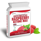 Body Smart Herbals - 90 Raspberry Ketones Extreme Weight Loss Slimming Dieting Fat Burner Aid Pills One Month Supply 1500mg Daily Dose