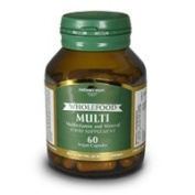 Natures Own Wholefood Multivitamin 60 capsule x 1