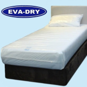 """KLEEN EVA Dry Waterproof Double Mattress Cover. Incontinence aid 190cm x 140cm x 6"""""""