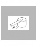 Delta Faucet RP72996 Trinsic, Handle Button and Set Screw, Chrome