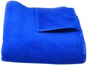 PRO Microfiber Bath Towel Blue