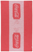 Coca Cola Presented by Now Designs Dishtowel, Classic Can Jacquard
