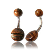 Tamarind Wood Belly Bar
