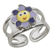 Suzette et Benjamin 925 Sterling Silver Ring Charm-Adjustable 3111374