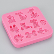 Multi Animals Silicone Mould
