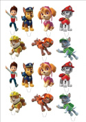 Paw Patrol stand up fairy cake toppers on premium wafer card